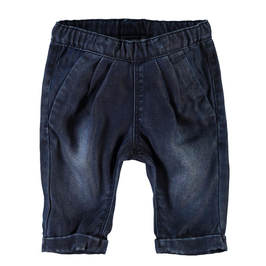 NAME IT Girls Spodnie Jeans Etta dark blue denim
