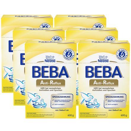 Nestlé BEBA AR Spezialnahrung 6x600g