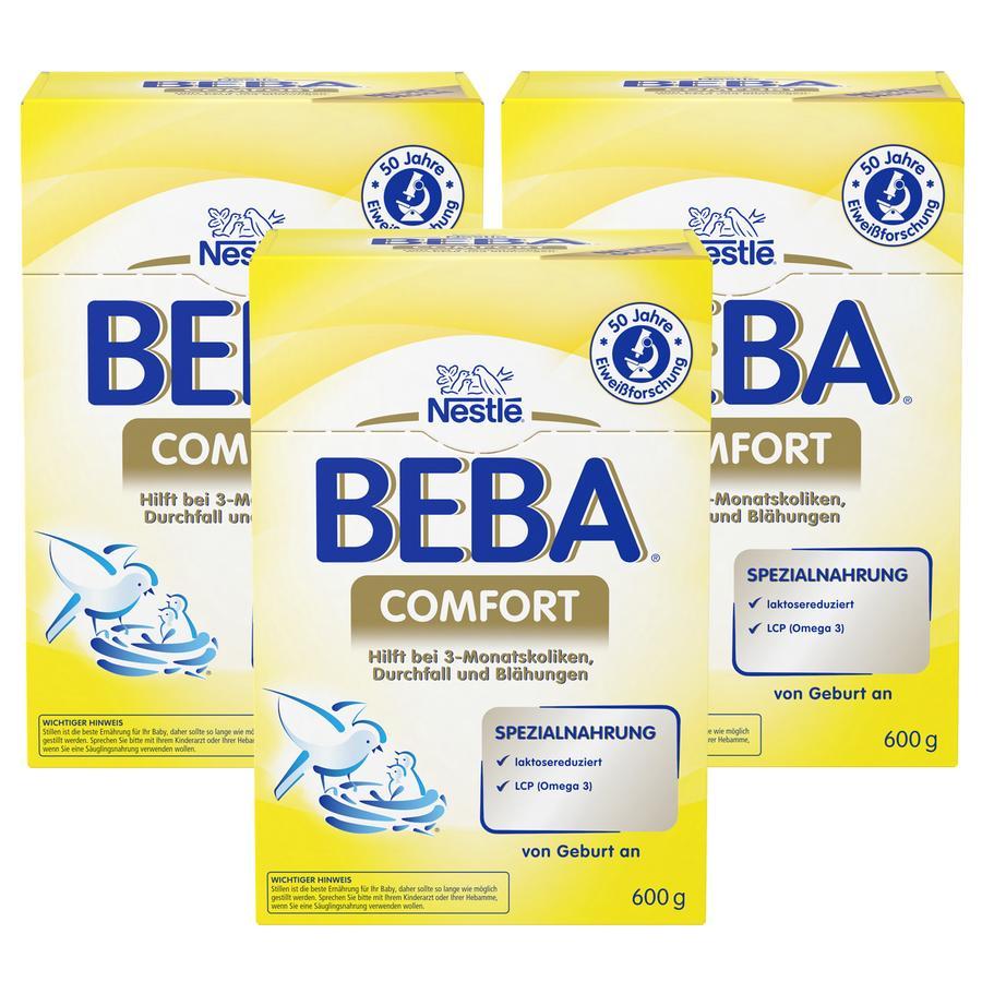 Nestlé BEBA Comfort Spezialnahrung 3x600g
