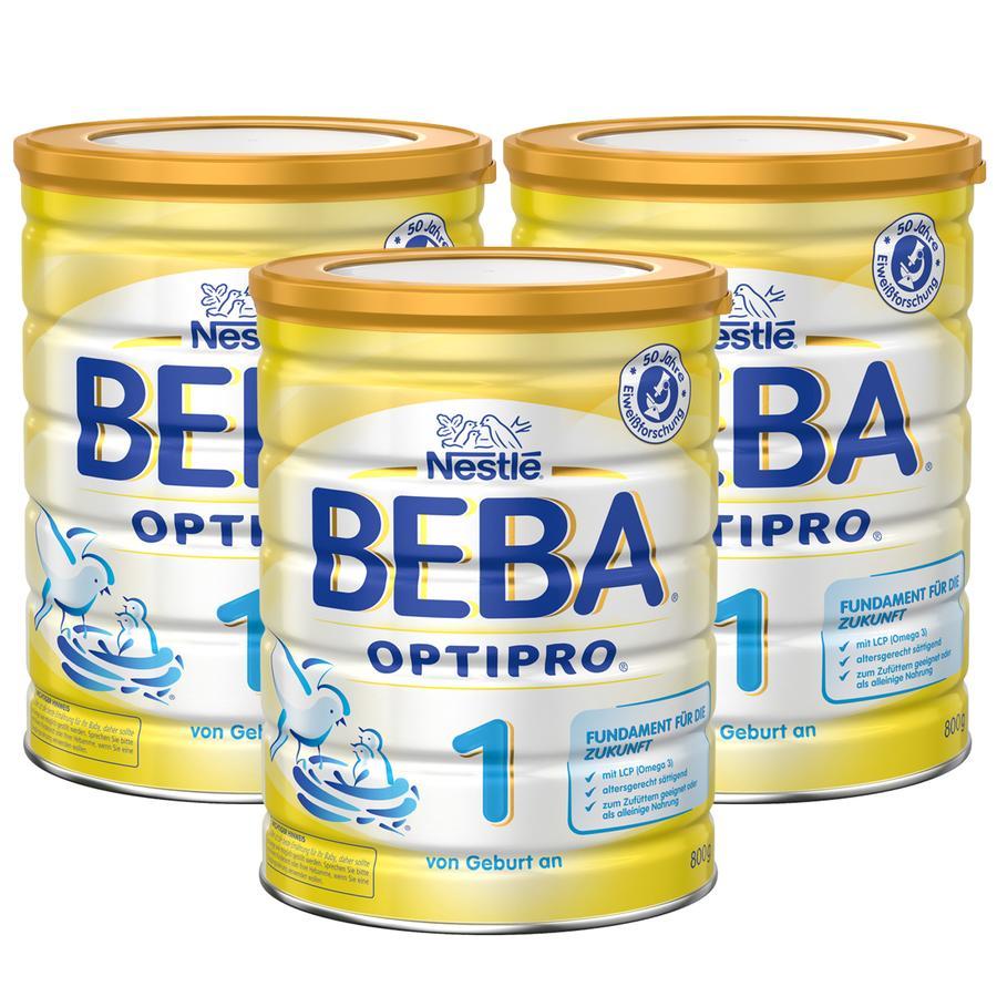Nestlé BEBA OPTIPRO 1 Anfangsmilch 3x800g