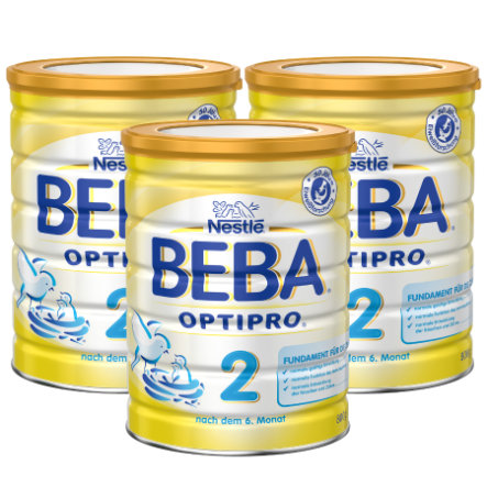 Nestlé BEBA OPTIPRO 2 Folgemilch 3x800g
