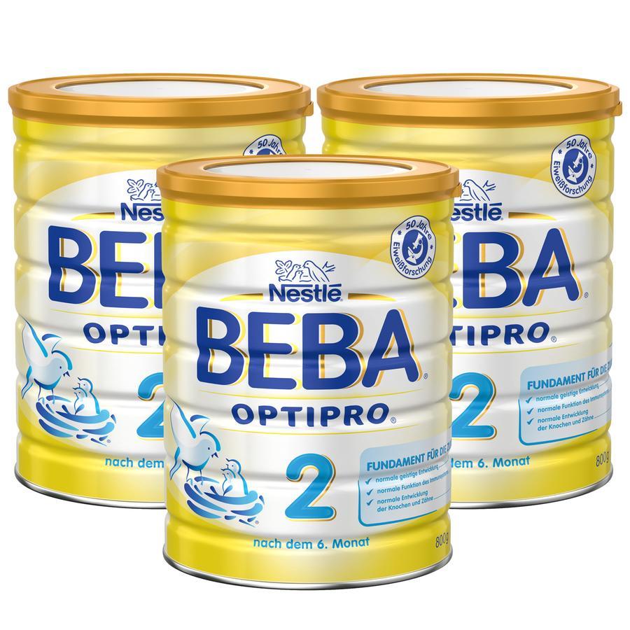 NESTLE Beba Pro 2 Follow-On Formula 3x800g