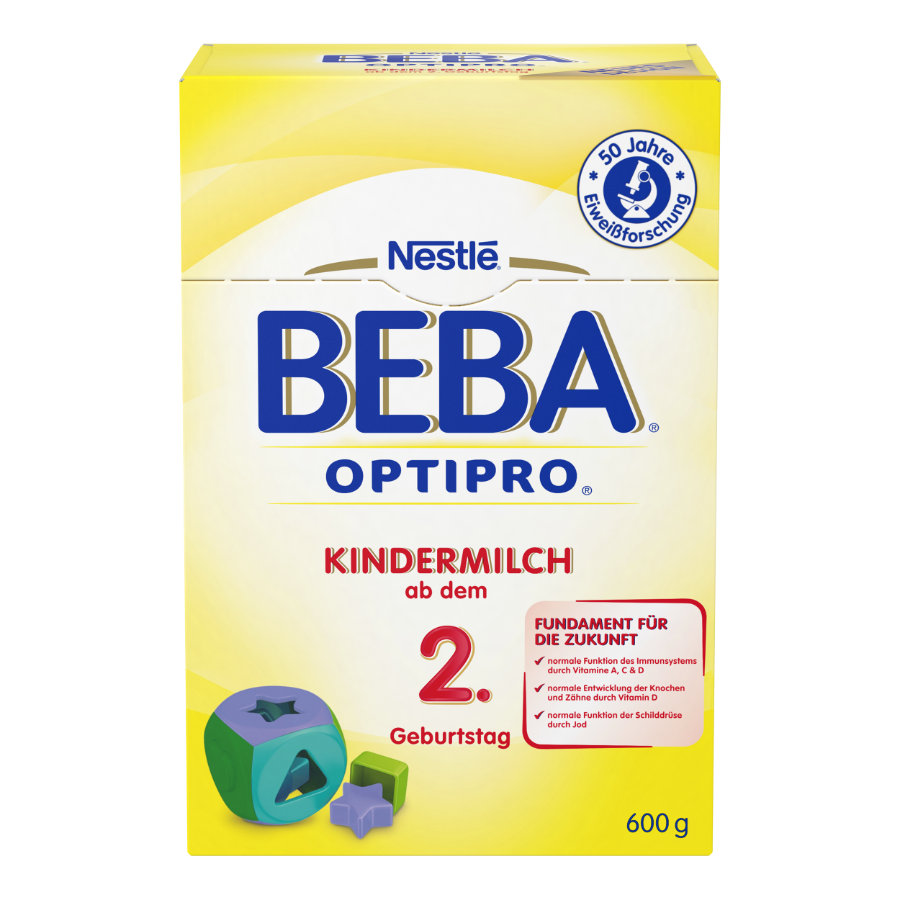NESTLE BEBA OPTIPRO Kindermilch 2+ 600g
