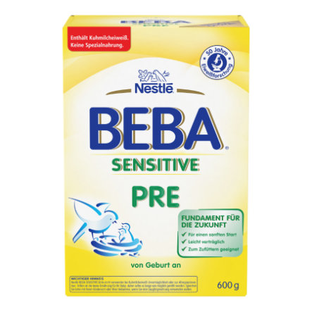Nestle BEBA Sensitive Pre 600g