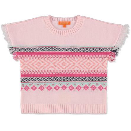 STACCATO Girl s Capa de luz rosa mélange