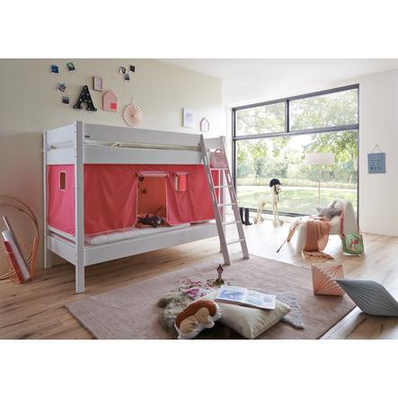 Relita Stoffset für Halbhochbetten pink / rosa