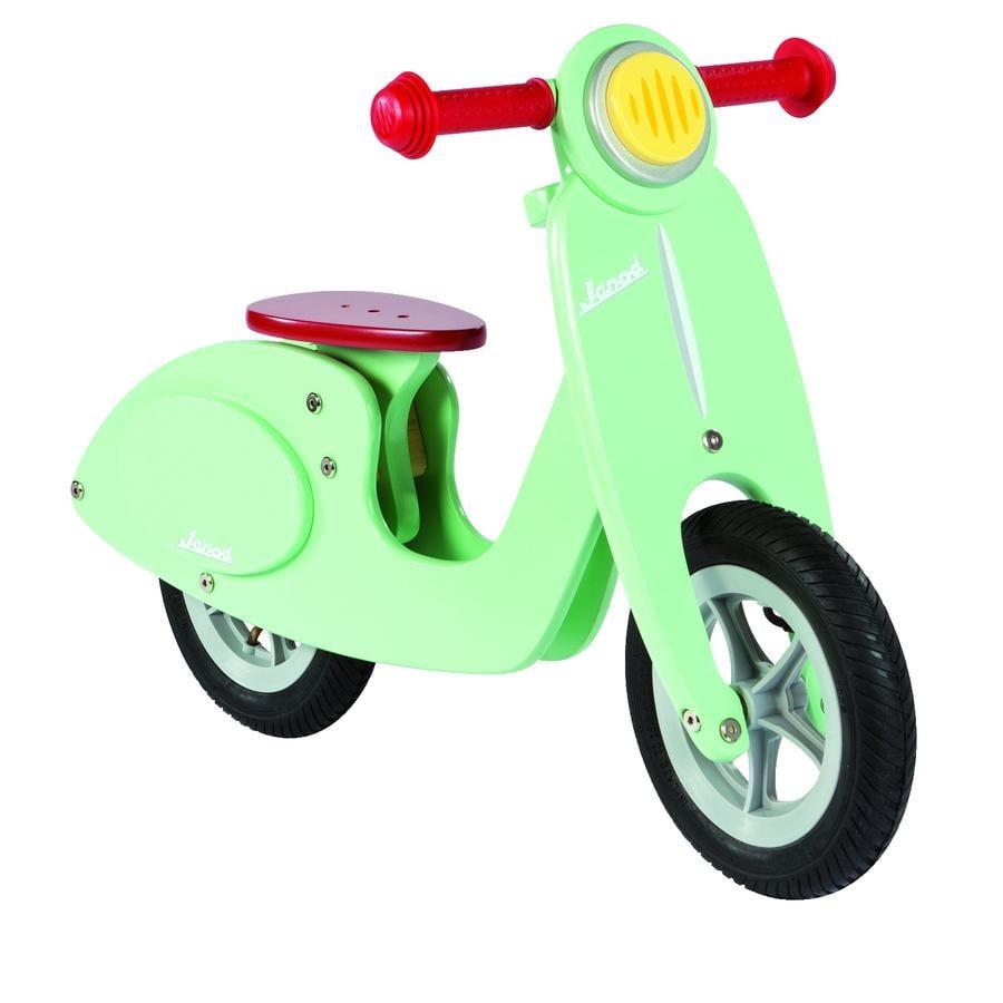 Janod® Rowerek biegowy - Scooter mint, drewniany