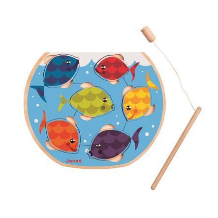 Janod® Magnet-Angelpuzzle - Fisch