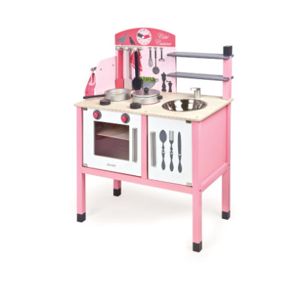 Janod Kuchnia Mademoiselle Rozowy Duza Pinkorblue Pl