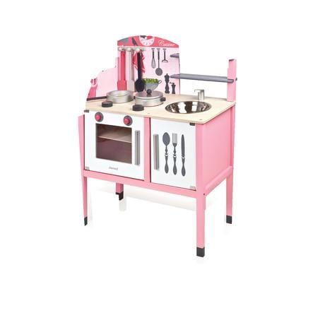 Janod® Leksakskök Mademoiselle, rosa stort