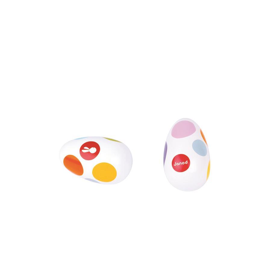 Janod® Konfety - Chřestící vajíčka
