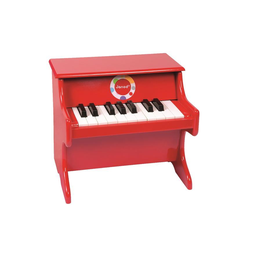 Janod® Piano Konfetti, punainen