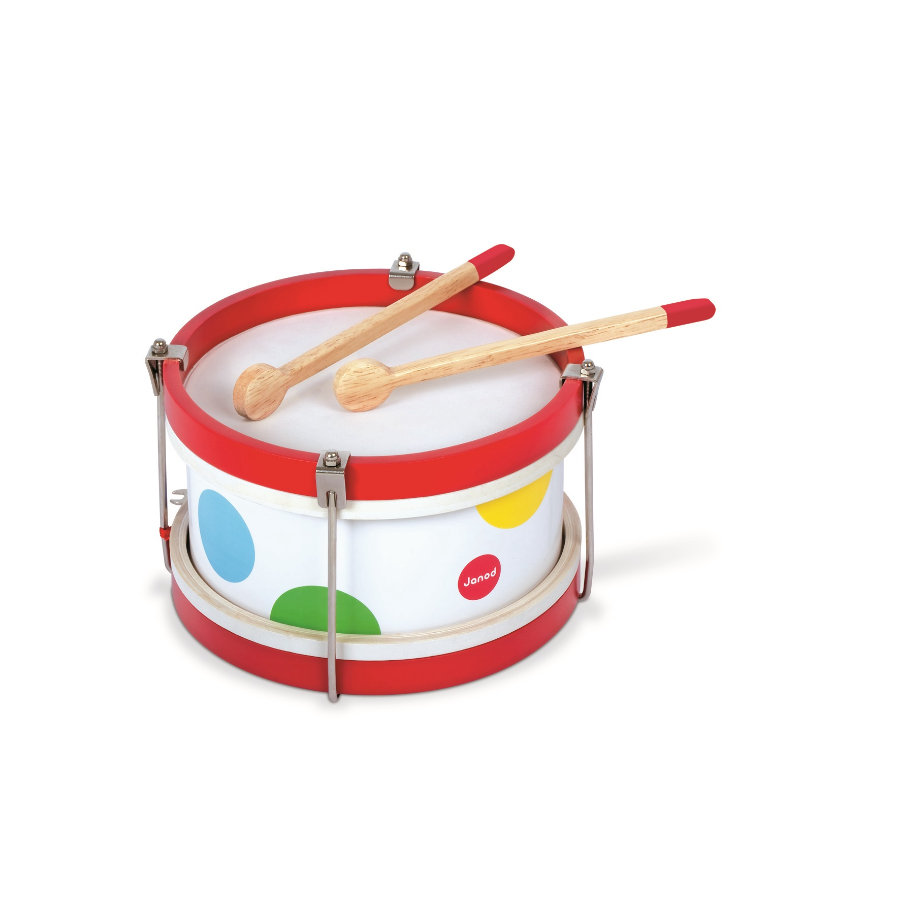 Janod® Mon premier tambour Confetti