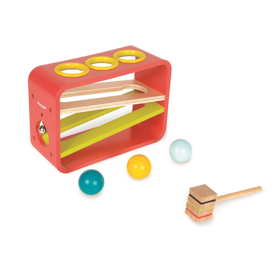 Janod® Laberinto de bolas con martillo