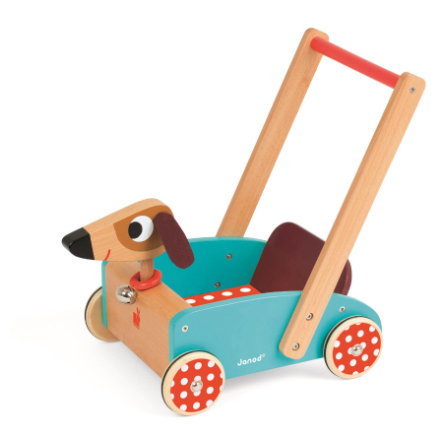 Janod® Carrello Crazy Dog