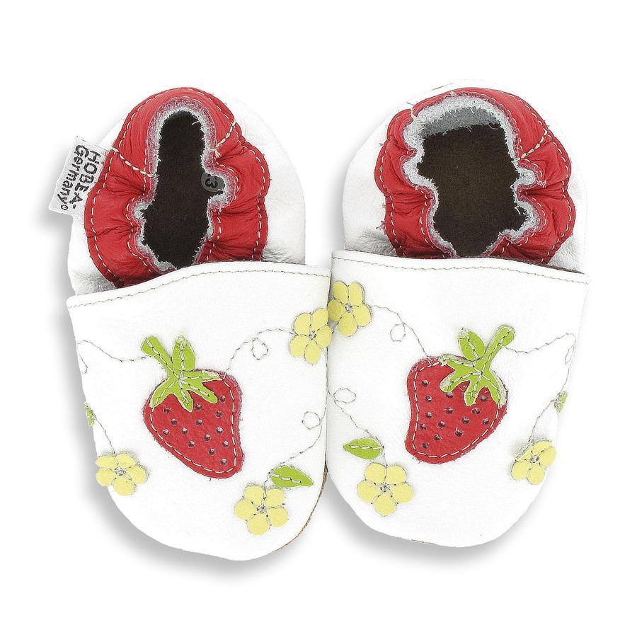 HOBEA-Germany Lauflernschuhe Erdbeere weiß