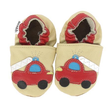 HOBEA Chaussons bébé pompier sable