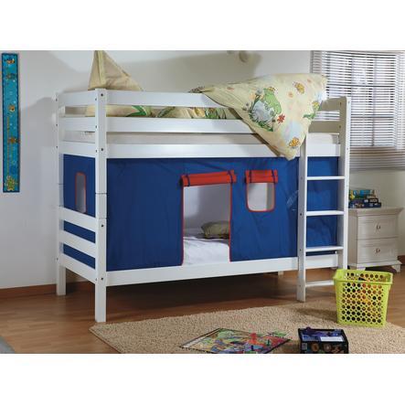 Relita Stoffset für Etagenbett blau / rot