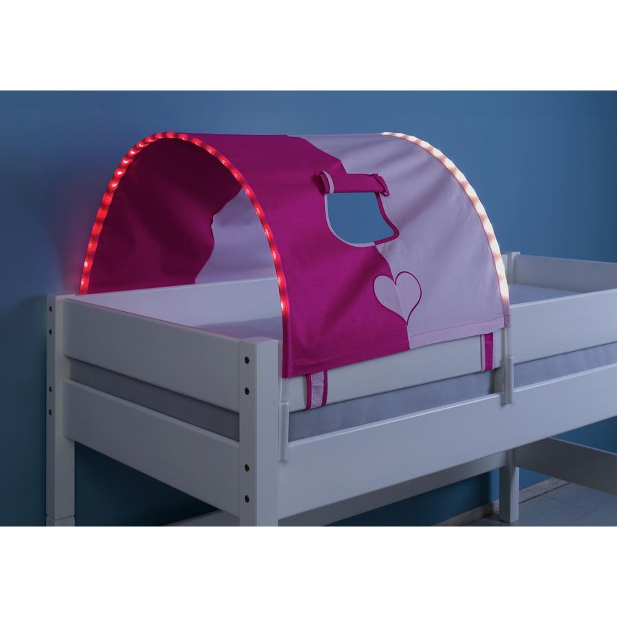 Relita 1er Tunnel mit LED pink / Herz