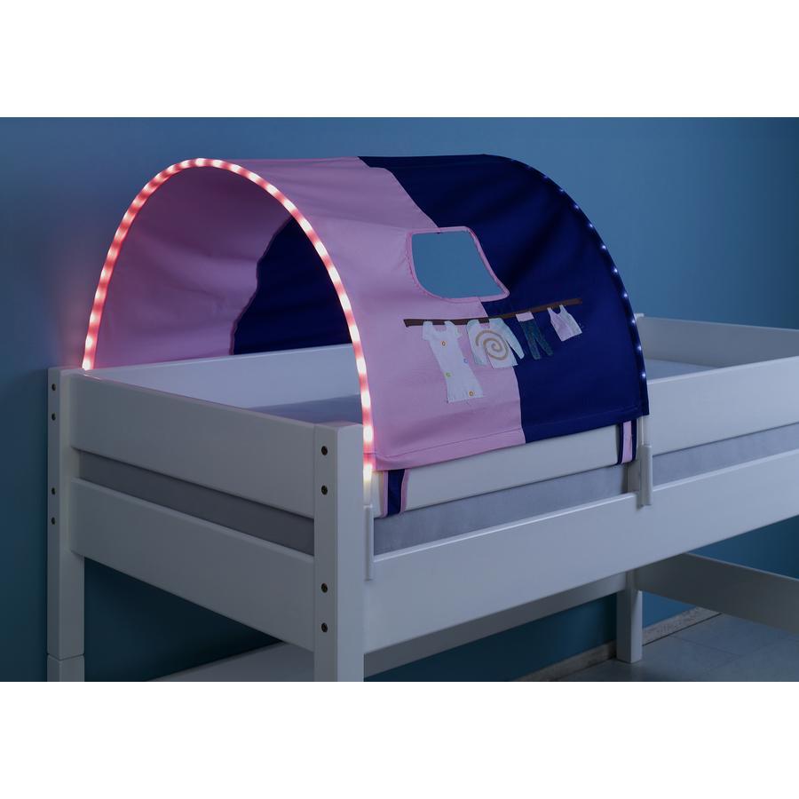 Relita 1er Tunnel mit LED rosa / violett-Kleider