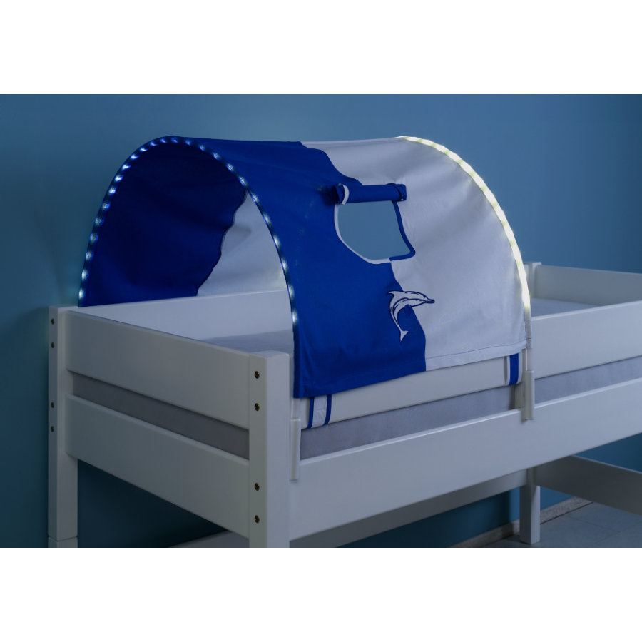 relita 1er tunnel mit led beleuchtung wei delphin. Black Bedroom Furniture Sets. Home Design Ideas