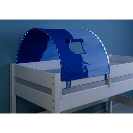 Relita 1er Tunnel mit LED blau / delphine