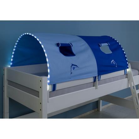 Relita 2er Tunnel mit LED blau / delphin
