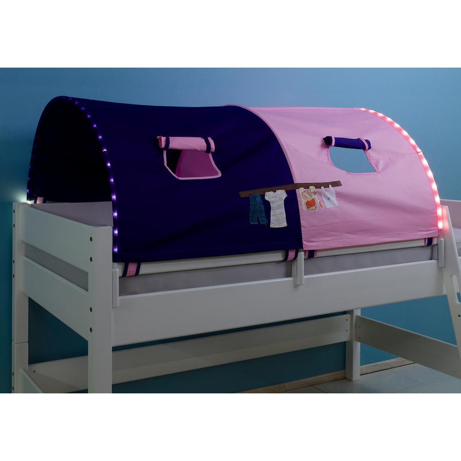 Relita 2er Tunnel lang mit LED rosa / violett-Kleider