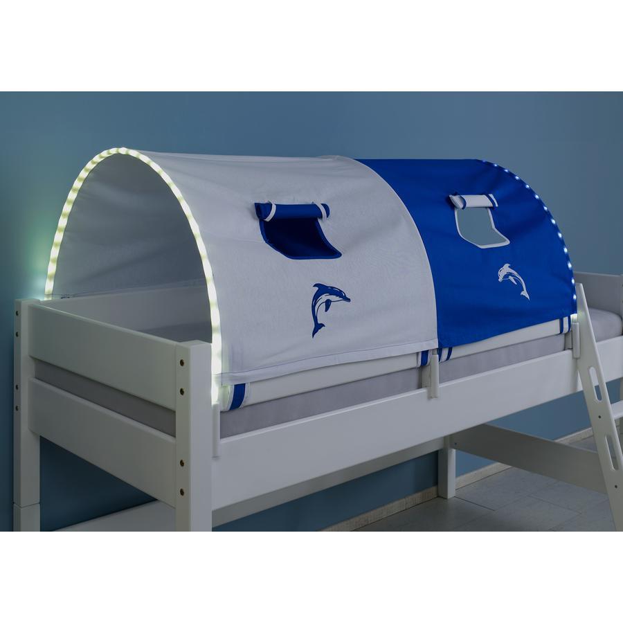 Relita 2er Tunnel mit LED weiß / delphin