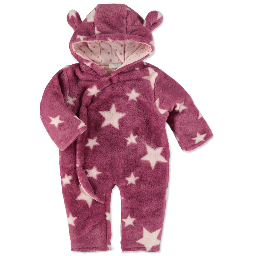 EDITION4Babys Coral Fleece Overall beere star