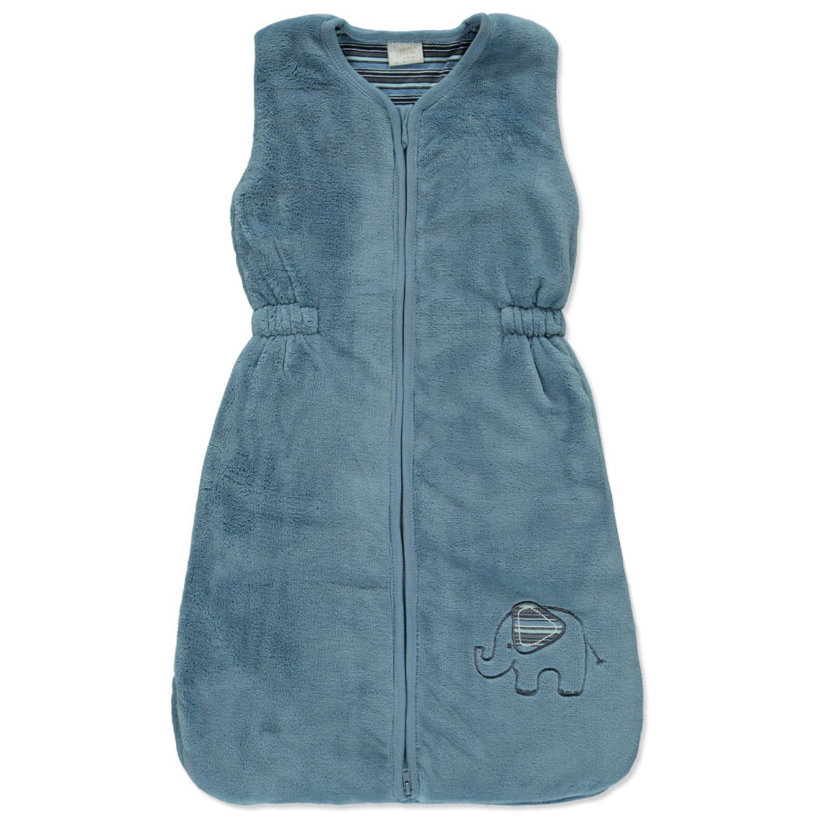 EDITION4Babys Fleece Schlafsack jeans blue Elefant