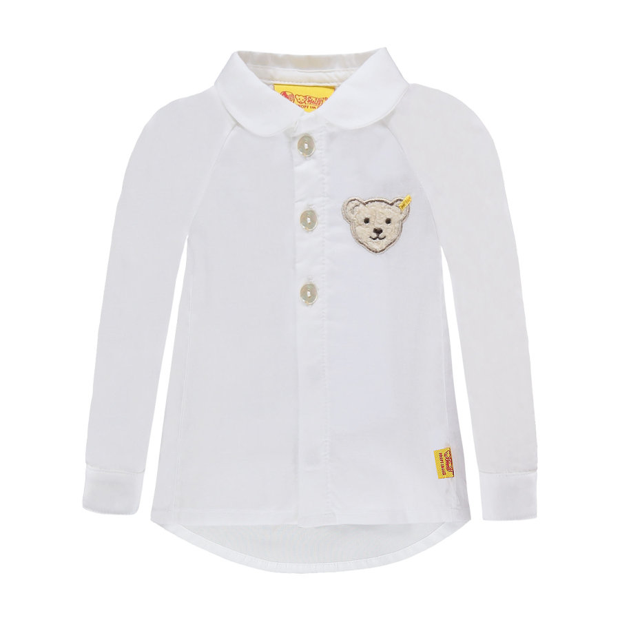 Steiff Girls Bluza bright white