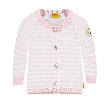 Steiff Girls Strickjacke barely pink