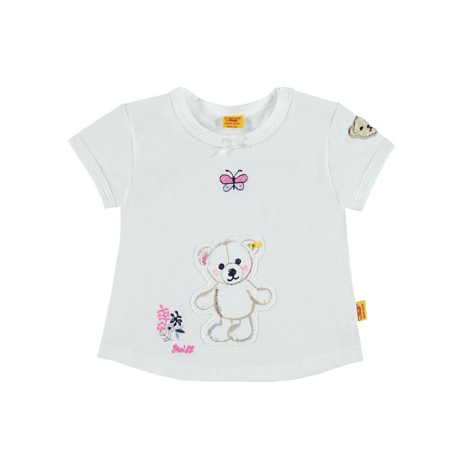 Steiff Girls T-Shirt bright white