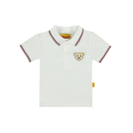 Steiff Boys Poloshirt bright white