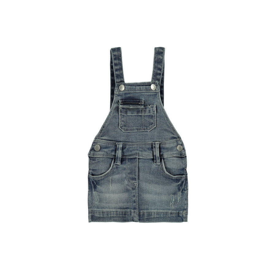 KANZ Girl s jeans salopette en jean wasded denim