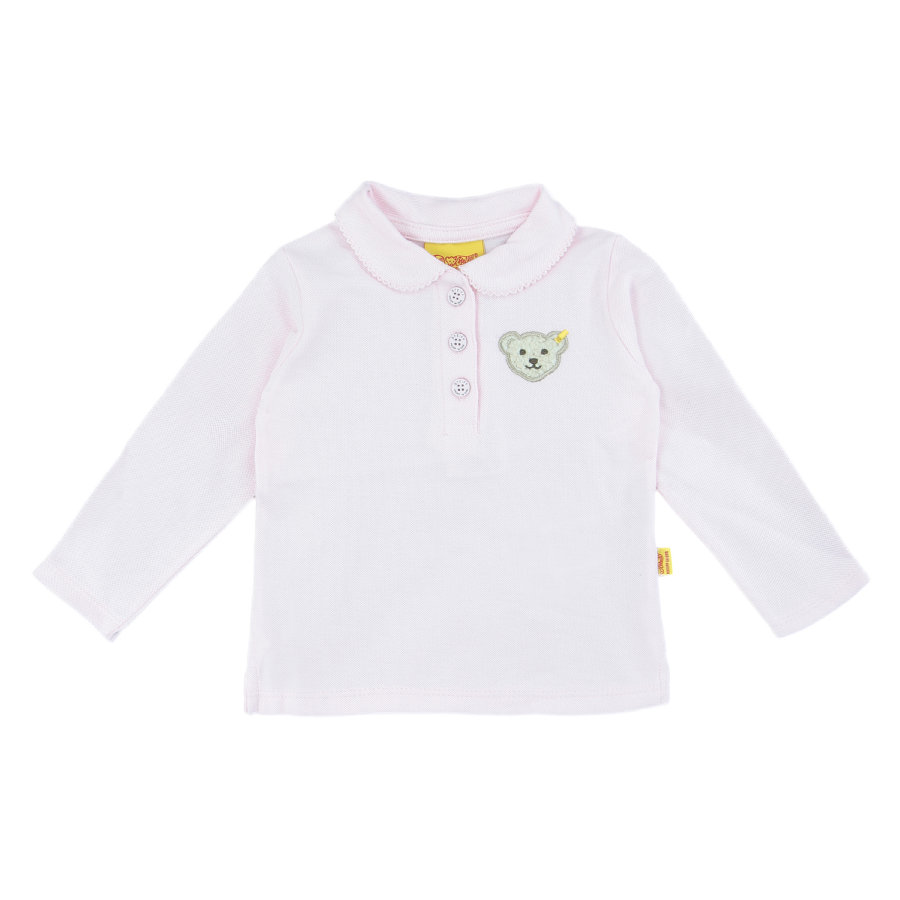 Steiff Girls Bluzka Polo barely pink