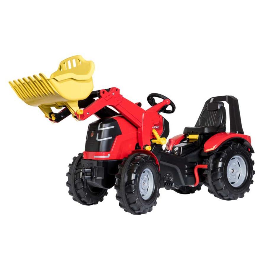 ROLLY TOYS šlapací traktor X TRAC PREMIUM s nakladačem
