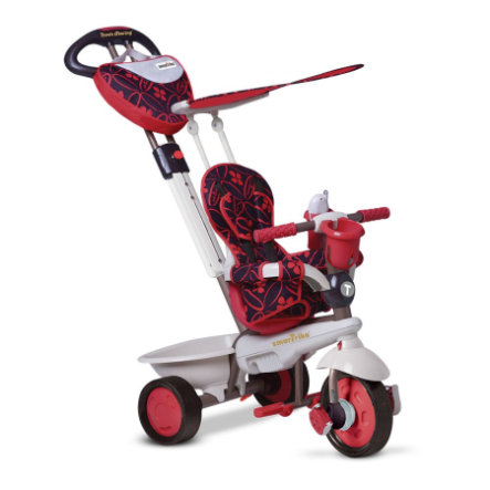 Smart Trike ®  4-in-1 Trehjuling Dream, röd