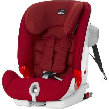 britax römer silla de coche Advansafix III SICT Flame Roja