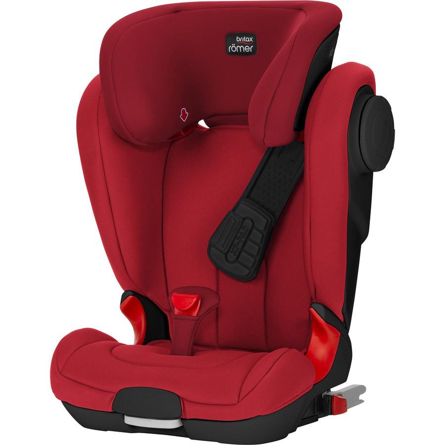 Britax Römer Kindersitz Kidfix II XP SICT Black Series Flame Red