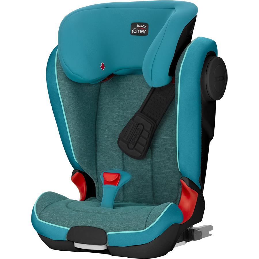 Britax Römer Kindersitz Kidfix II XP SICT Black Series Green Marble