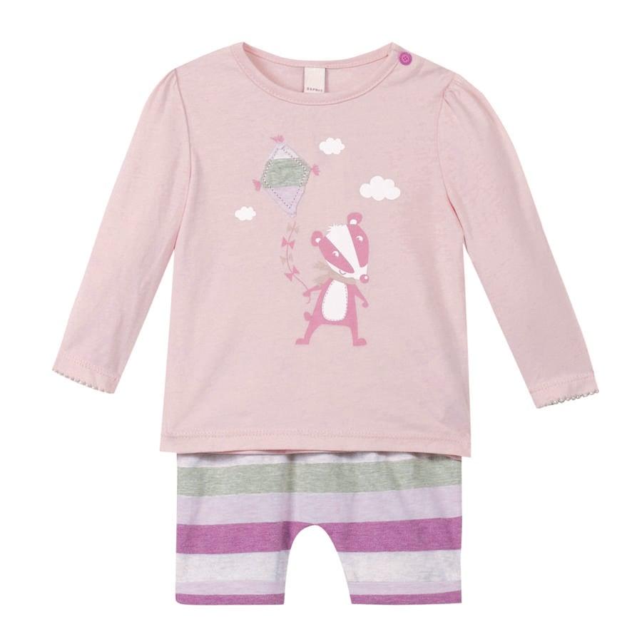 ESPRIT Girl s Set rosa pastel