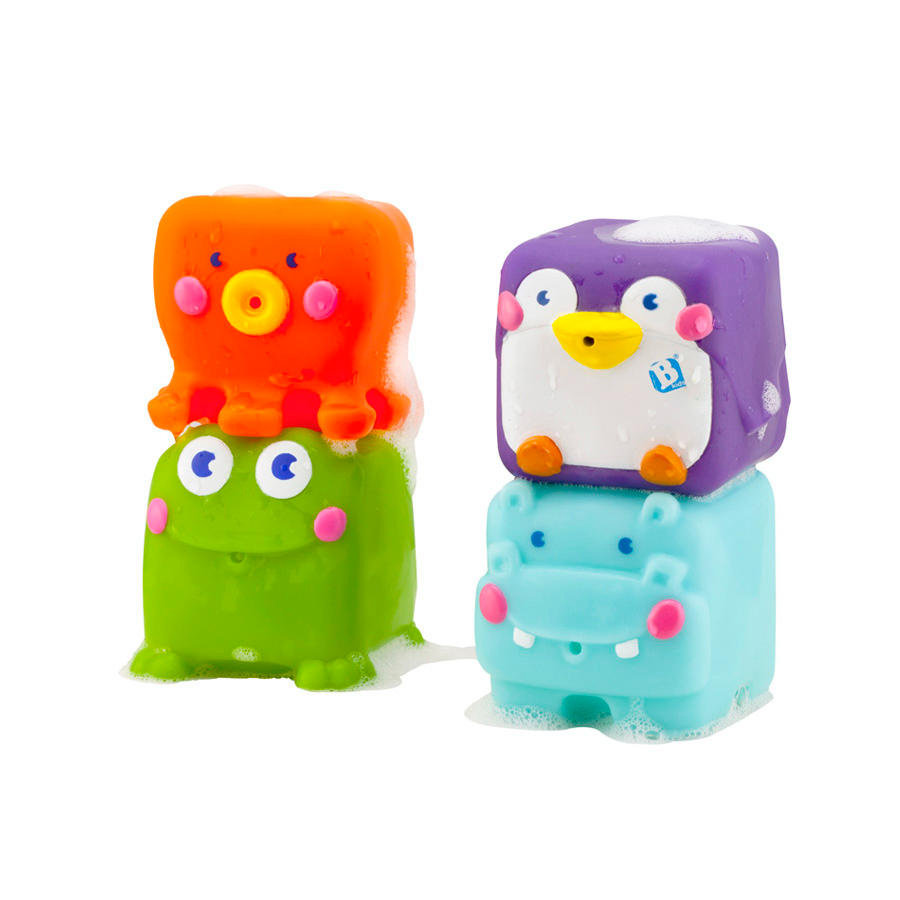 B kids® by Infantino Squishy Squirt Pals