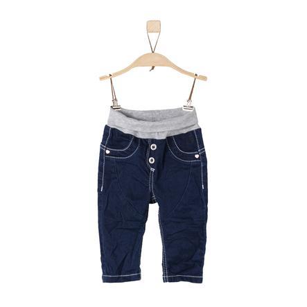 s.Oliver Girls Pants blue denim stretch