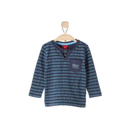 s.Oliver Boys Longlseeve dark blue stripes