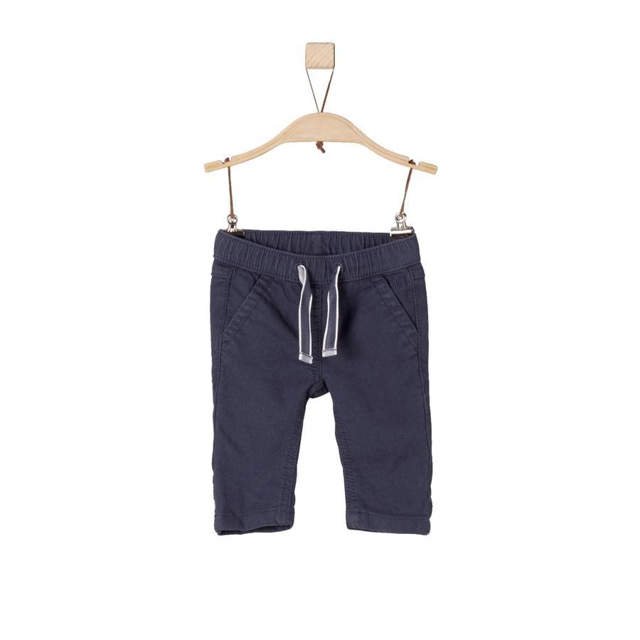 s.Oliver Boys Spodnie w kolorze ciemnoniebieskim.