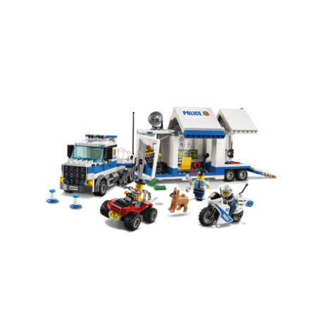LEGO® City - Le poste de commandement mobile