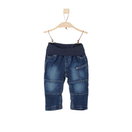 s.Oliver Boys Hose blue denim stretch