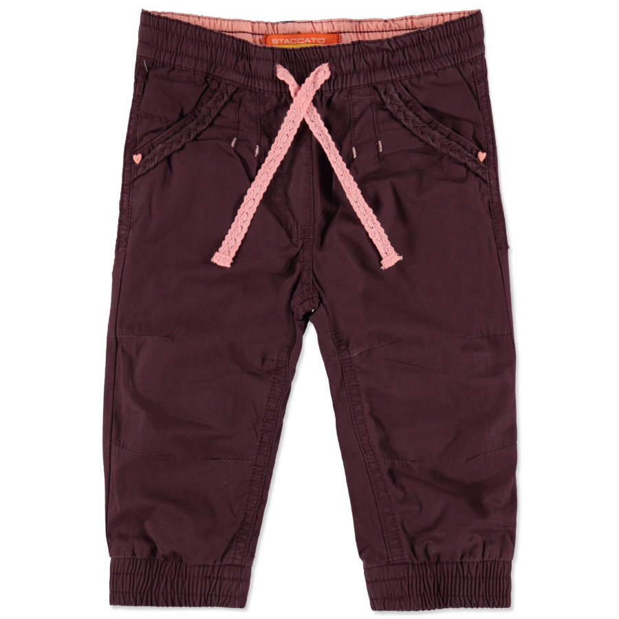 STACCATO Girls Thermohose dark berry